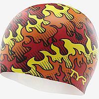 Шапочка для плавания TYR Flame Silicone Swim Cap