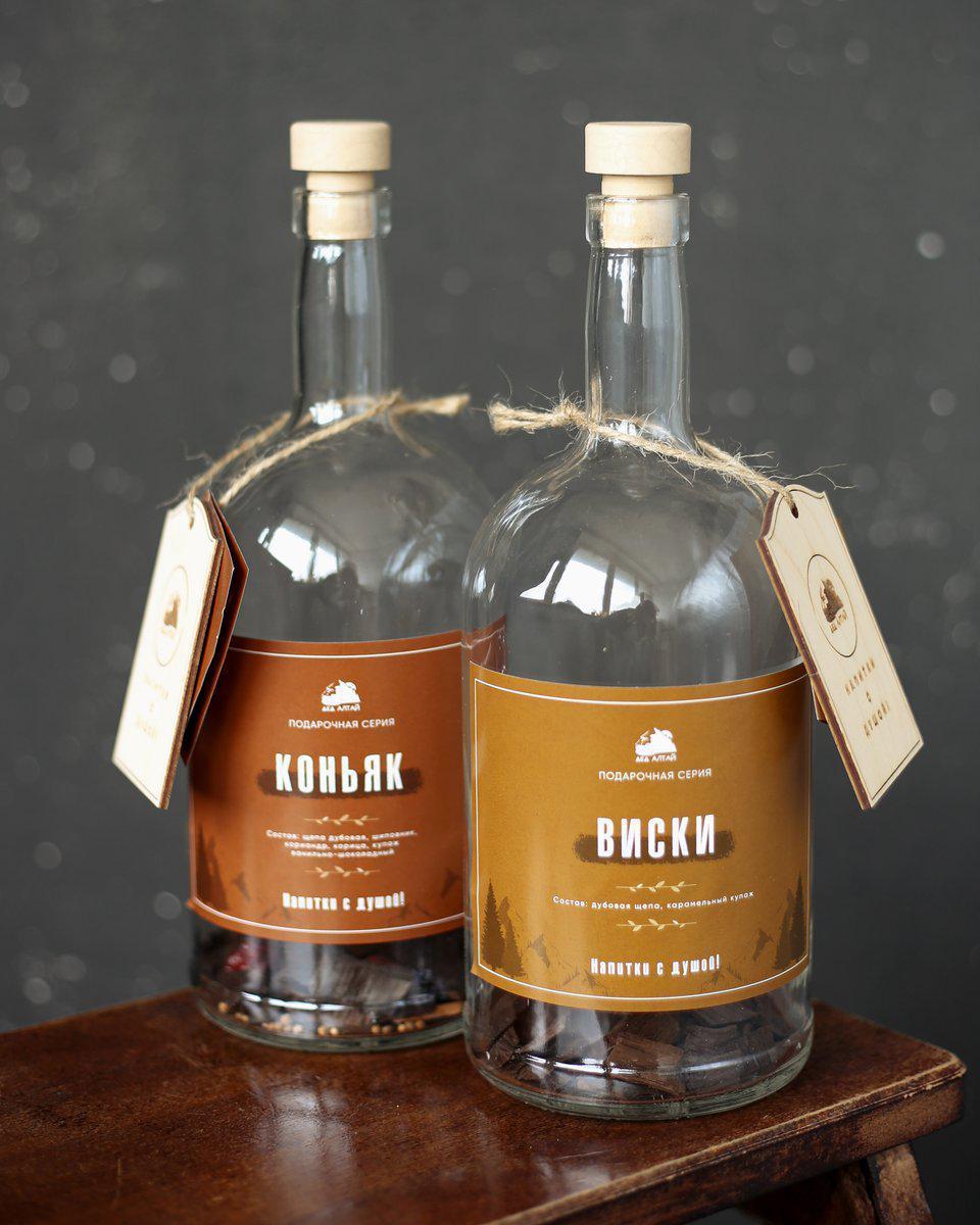 Виски подарочная серия ДЕД АЛТАЙ (1 литр)