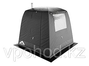 """Мобильная баня/палатка """"Морж"""" с большим окном"""