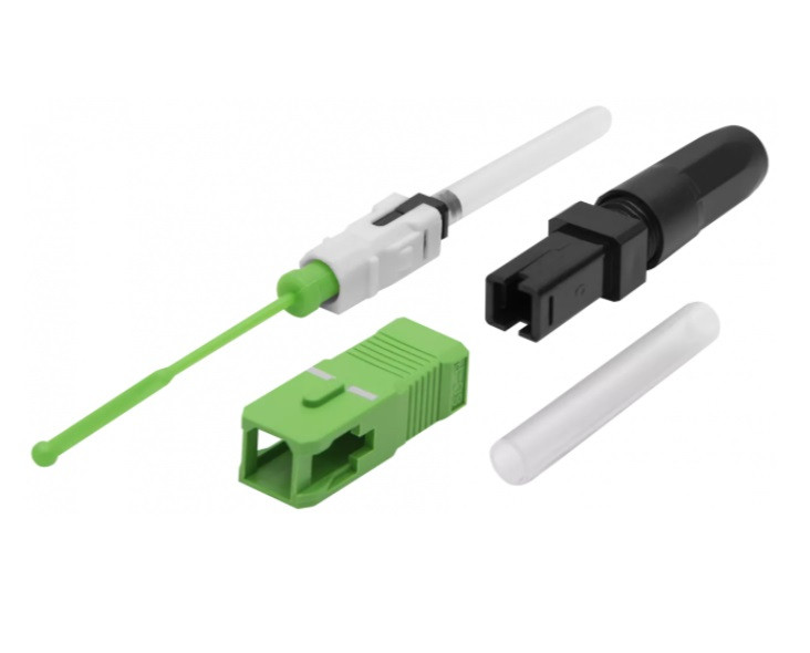 """Коннектор оптический  """"Splice-On Connector"""" SC/APC для кабеля 2,0 х 3.0"""