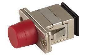 Гибридный адаптер (оптический переходник) SC-FC, фото 2