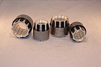 Шина П образная с тюльпанодержателями для выкатной тележки выключателя ВКЭ КРУ КМ 1Ф
