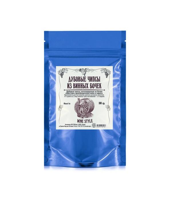 Дубовые чипсы «Винные», 100 гр