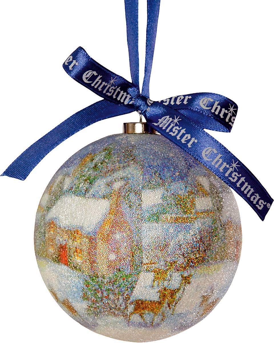 Набор елочных шаров Mister Cristmas Collection 14 штук в коробке - фото 1