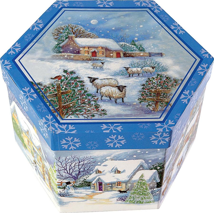 Набор елочных шаров Mister Cristmas Collection 14 штук в коробке - фото 2