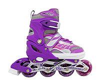 Раздвижные ролики In line Skates Sport регулируемый размер 34-39