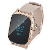 Умные часы с GPS трекером Smart Watch T58 для подростков, взрослых и пожилых людей