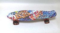 Пенни борд Graffiti со светящимися колесами
