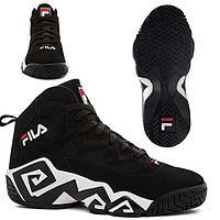 Кроссовки Fila MB Jamal Mashburn Retro black/white размеры 40-46