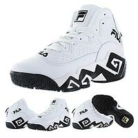 Кроссовки Fila MB Jamal Mashburn Retro white/black размеры 40-46