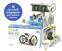 Конструктор на солнечных батареях Solar Robot 14 в 1