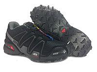 Кроссовки трейловые Salomon Speedcross 3 black/grey