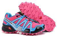 Кроссовки трейловые Salomon Speedcross 3 Pink Blue