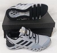 Кроссовки Adidas Terrex Gray Black White