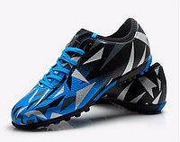Бутсы футбольные Tiebao S76516 TF Sky Blue