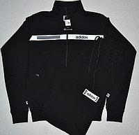 Костюм спортивный мужской Adidas черный/белый