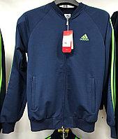 Костюм спортивный мужской Adidas светло-синий/салатный