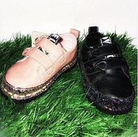 Ботинки детские на липучках размеры 21-25