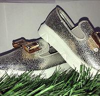 Туфли для девочки с бантами размеры 21-26