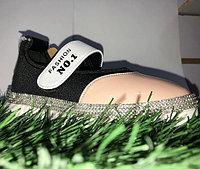 Туфли для девочек NO.1 со стразами на липучках размеры 25-30