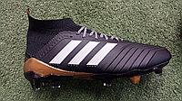 Футбольные бутсы Adidas Predator 18 FG Black 39-43