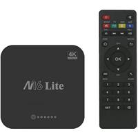 Смарт ТВ-приставка M16 Lite 1/8Гб 4K Android