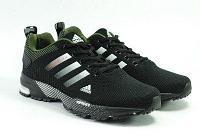 Кроссовки беговые Adidas Marathon TR черный/белый/хаки