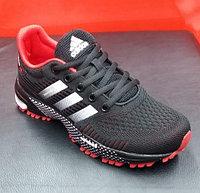 Кроссовки беговые Adidas Marathon TR 2019 черный/красный/белый