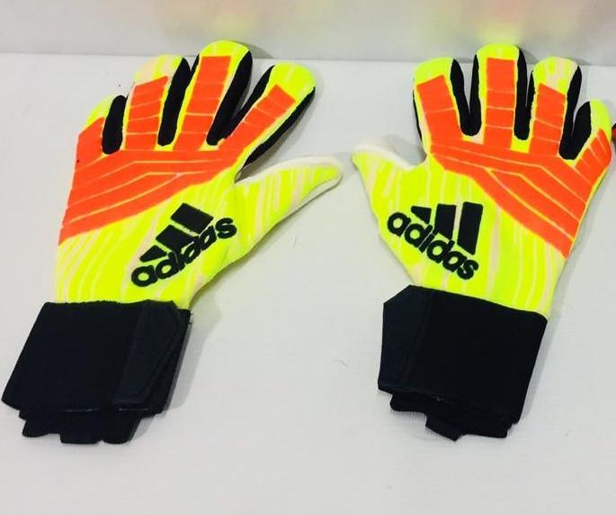 Перчатки вратарские Adidas Predator Pro размеры 6-7 - фото 2