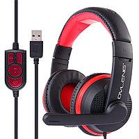 Проводные игровые наушники OVLENG GT91 USB, микрофон