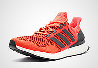 Кроссовки беговые Adidas Ultra Boost красные