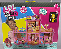 Домик куклы ЛОЛ Lol Surprise! Remix Live 102 детали # BB020