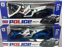 Полицейская машинка с мигалками на радиоуправлении 1:12