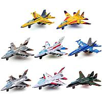 Набор игрушечных моделей самолетов Six-Six-Zero 4 модели в упакове