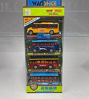 Игрушка набор автобусов разных стран Die Cast Collection
