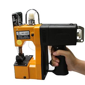 Портативная мешкозашивочная машина gk9-500 с аккумулятором