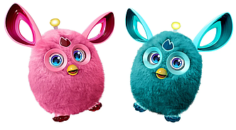 Электронная говорящая игрушка повторюшка Ферби