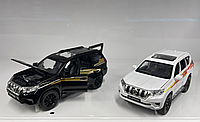 Toyota Land Cruiser Prado металлическая модель машины масштаб 1:32