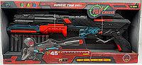 Игрушечный автомат с безопасными пулями