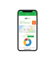 Мобильное приложение для программного обеспечения ZKTeco BioTime 8.0