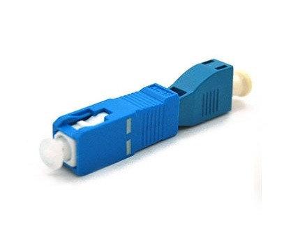 Гибридный адаптер (оптический переходник) SC-LC, фото 2