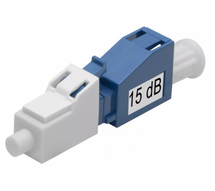 Аттенюатор оптический  ATT-LC/UPC-15dB (Male-Female)
