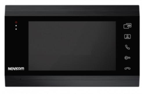 """MAGIC DARK 7 - Монитор видео домофона 7"""" с памятью (цвет - чёрный)."""
