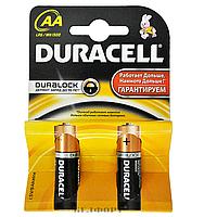 Батарейки Durasel, AA, LR6, MN1500, блистер 2шт