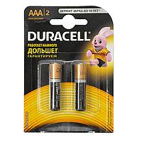 Батарейки Durasel, AAA, LR03, MN2400, блистер 2шт
