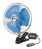 Автомобильный вентилятор на прищепке от прикуривателя., фото 6