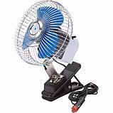 Автомобильный вентилятор на прищепке от прикуривателя., фото 7