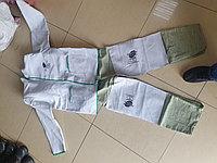 Костюм сварщика комбинированный спилковый кожаный куртка и брюки с накладками из спилка