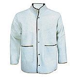 Костюм сварщика комбинированный спилковый кожаный куртка и брюки с накладками из спилка, фото 2