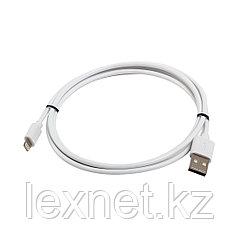 Интерфейсный кабель USB-Lightning SVC LHT-PV0120WH-P, 30В, Белый, Пол. пакет, 1.2 м